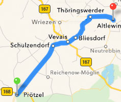 """Route-Schulzendorf-Bliesdorf-Altlewin"""